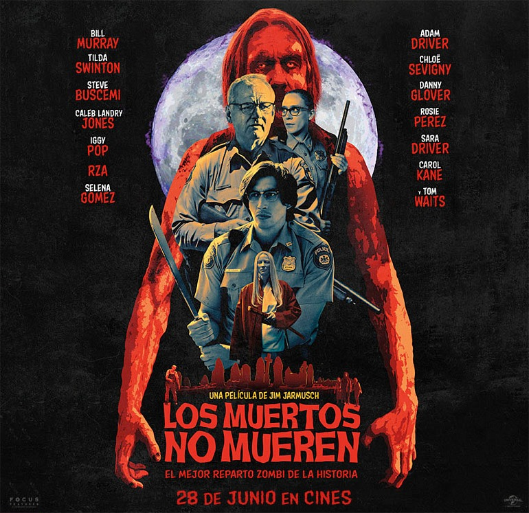 """Sorteamos entradas dobles para ver """"Los Muertos No Mueren"""" en cines"""