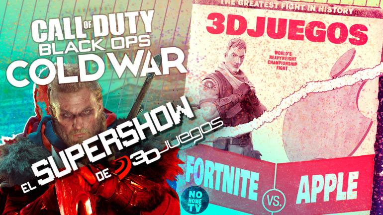 Call of Duty Black Ops Cold War, la guerra de Fortnite, Battletoads y High Score de Netflix en el SuperShow
