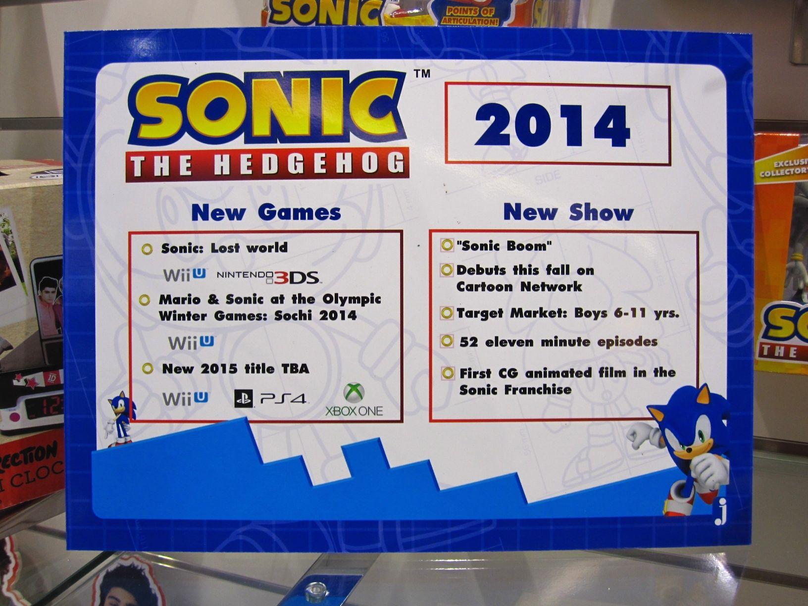 Sonic podría estrenar nuevo videojuego en 2015