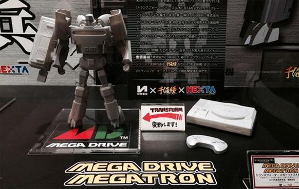 SEGA presenta una Mega Drive capaz de convertirse en un Transformer