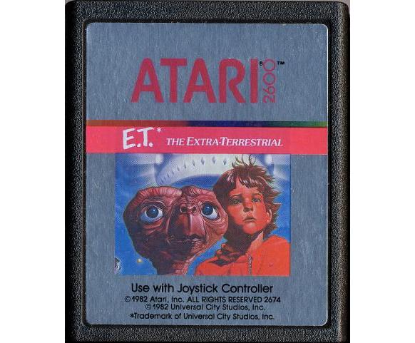 Se paralizan los planes para el documental sobre los cartuchos de E.T enterrados en Nuevo México