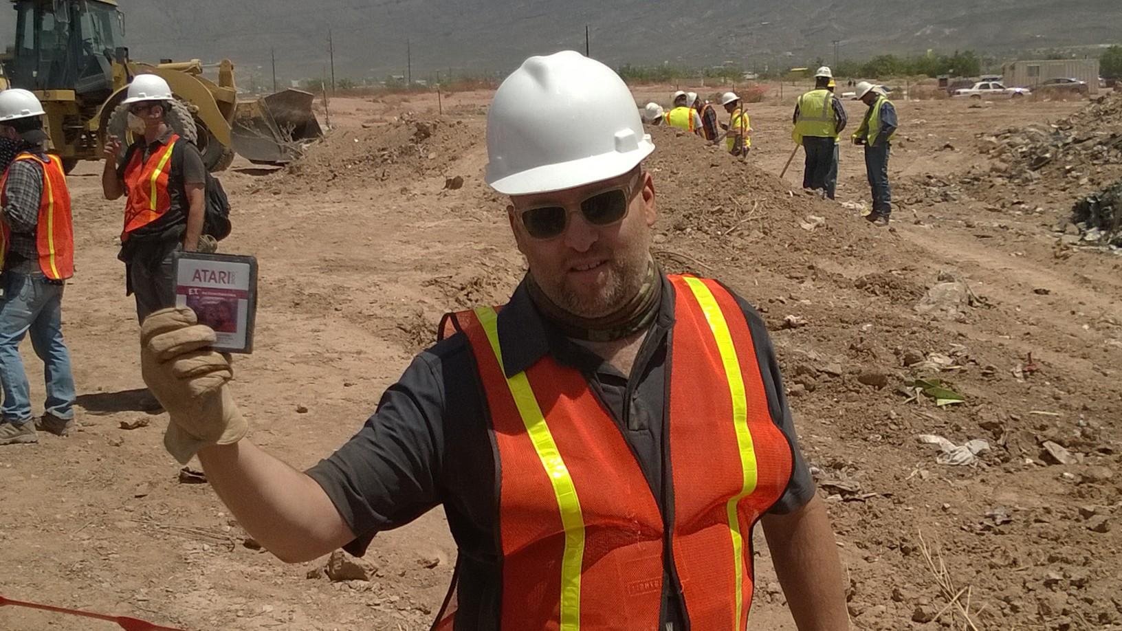 Localizan los cartuchos de E.T. en el desierto de Nuevo México