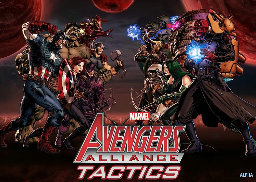Marvel anuncia Avengers Alliance Tactics para Facebook