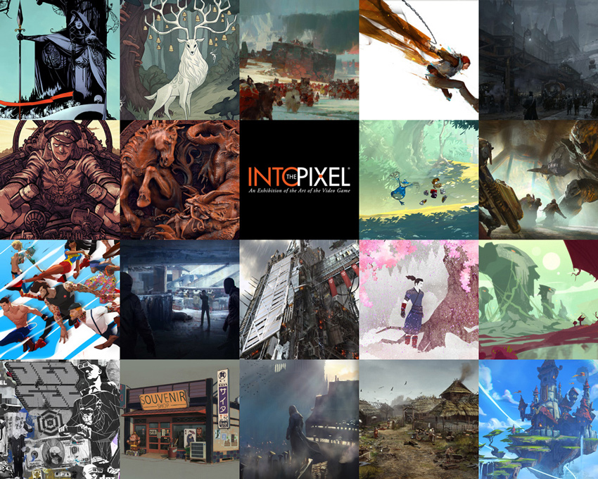 La iniciativa Into the Pixel presenta su selección de ilustraciones de artistas de videojuego para este año