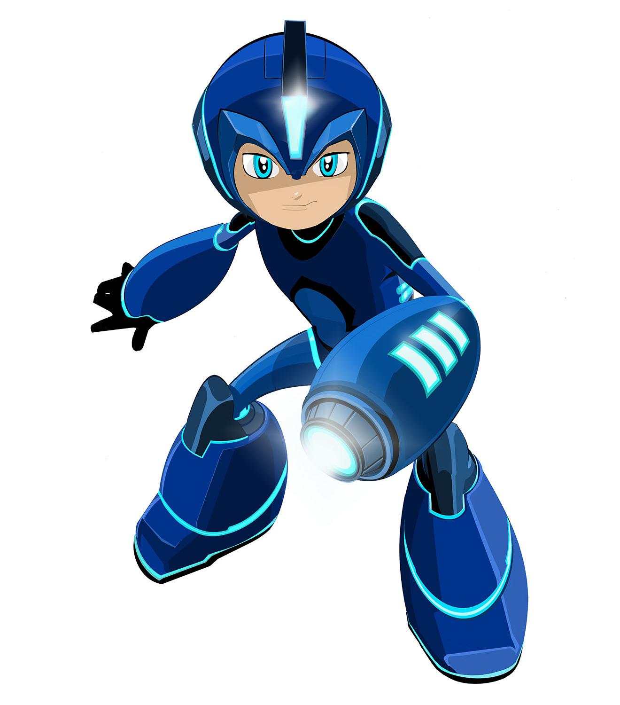 El diseño de Mega Man en su nueva serie animada incendia la red