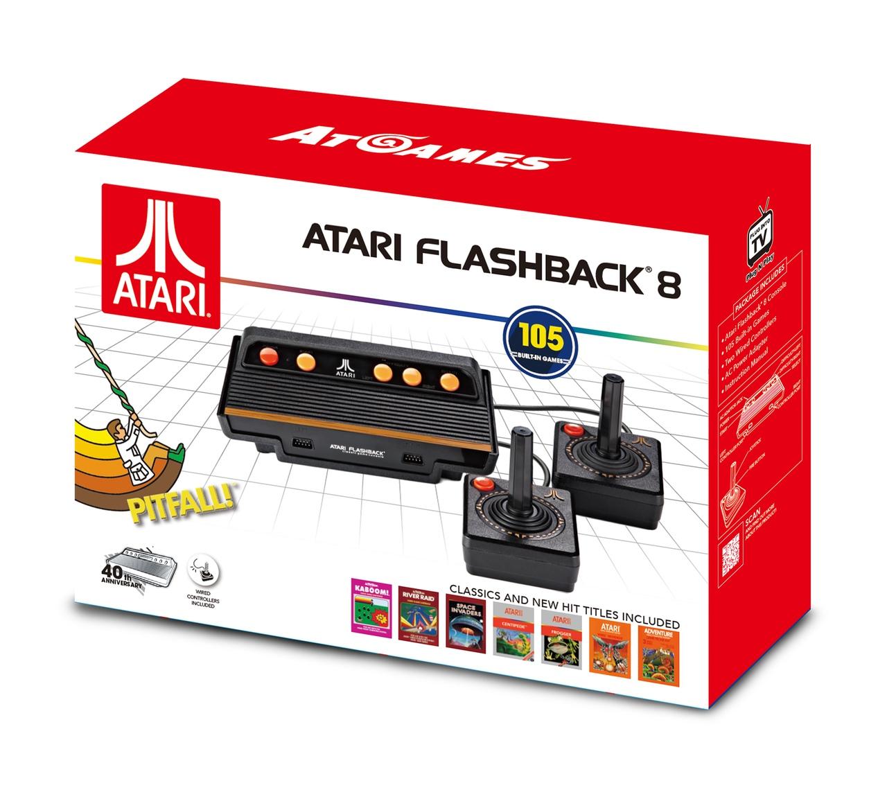 Presentan la consola Atari Flashback 8 Gold, con 120 juegos clásicos