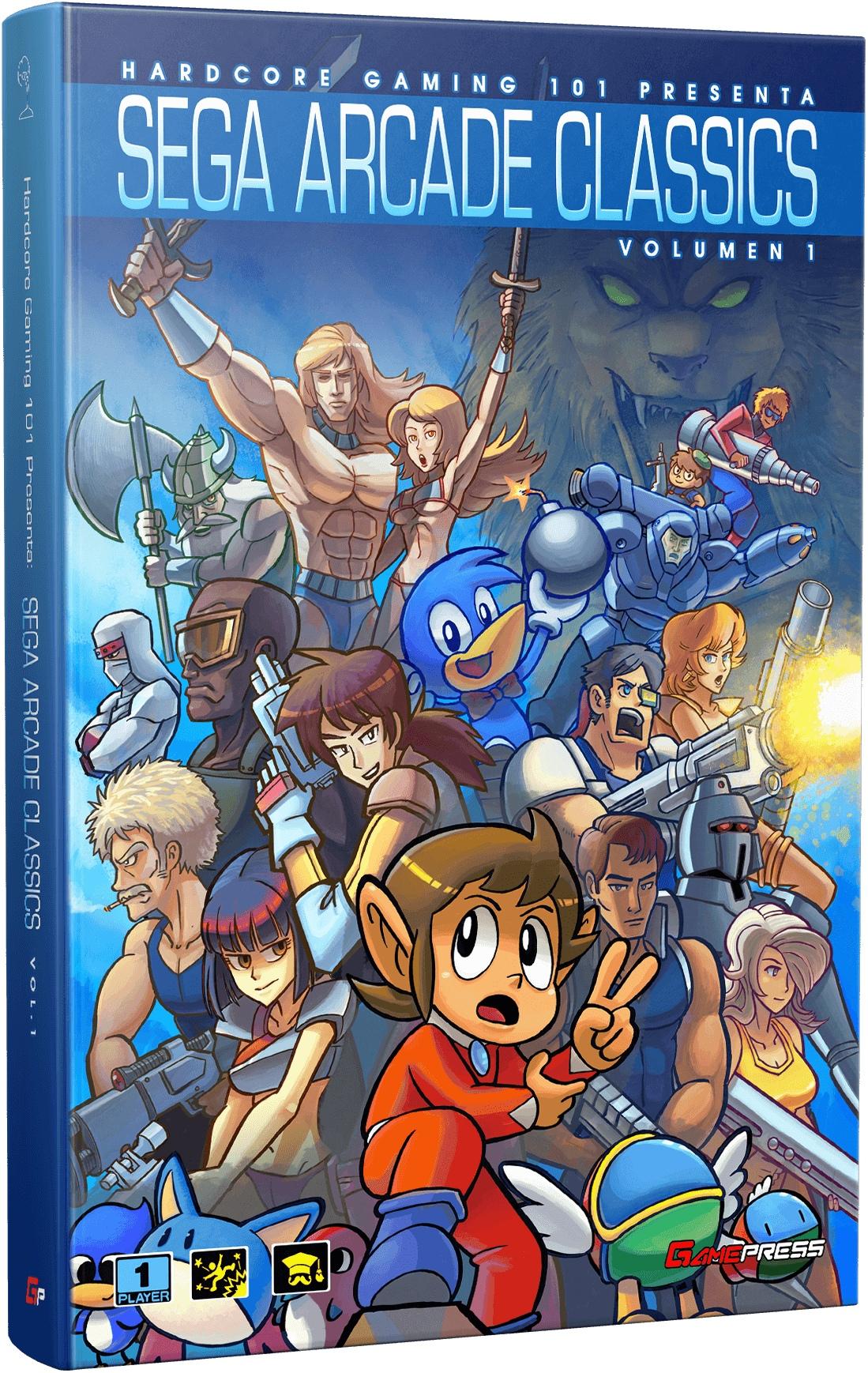 El libro Sega Arcade Classics llega a las librerías españolas