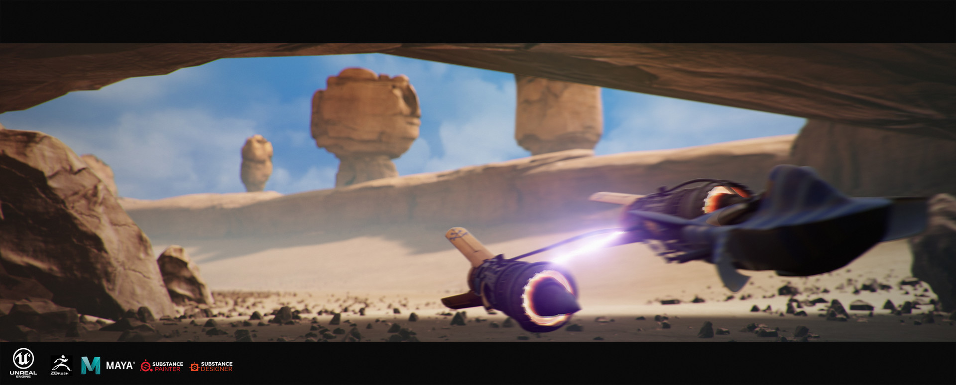 Un fan recrea Star Wars Episode 1 Racer con Unreal Engine… ¡y lo puedes jugar!
