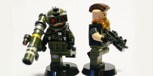 Un aficionado homenajea a grandes videojuegos con sus figuras de LEGO