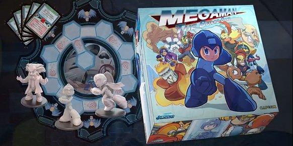 Mega Man contará con un juego de tablero