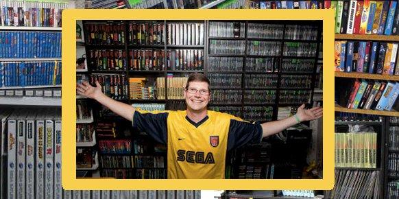 La colección de videojuegos más grande del mundo, con más de 11.000 títulos, sometida a subasta
