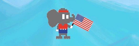 En Estados Unidos los republicanos presentan un videojuego gratuito para derrotar a los demócratas