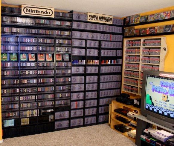 Un aficionado vende su colección de casi 6.000 juegos a cambio de 164.000 dólares