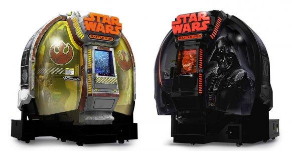 """Bandai Namco lanza una versión """"casera"""" de su última recreativa de Star Wars"""