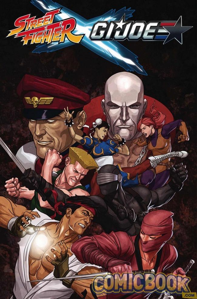 Street Fighter y GIJOE se cruzarán en un nuevo crossover para cómic