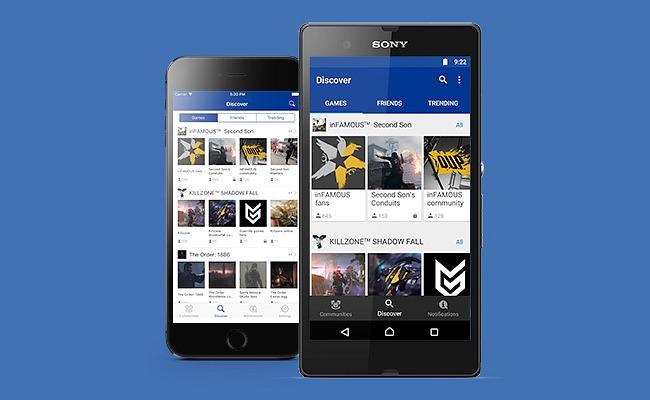 La aplicación Comunidades de PlayStation, ya disponible en iOS y Android