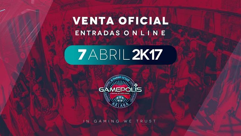 Gamepolis, la feria del videojuego en Málaga, calienta motores