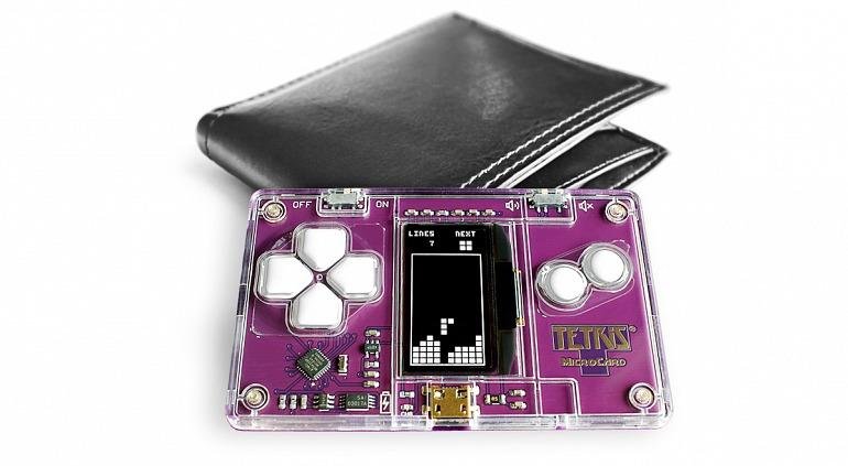 Tetris MicroCard: Juega al popular juego desde una tarjeta