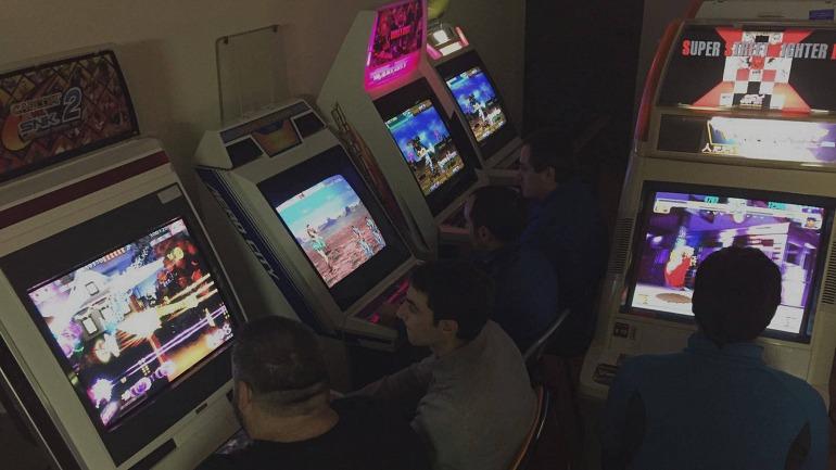 Las máquinas recreativas toman Murchante en el FightCade Festival