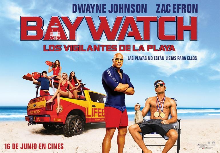 Gana un pack de premios de la película Baywatch: Los vigilantes de la playa