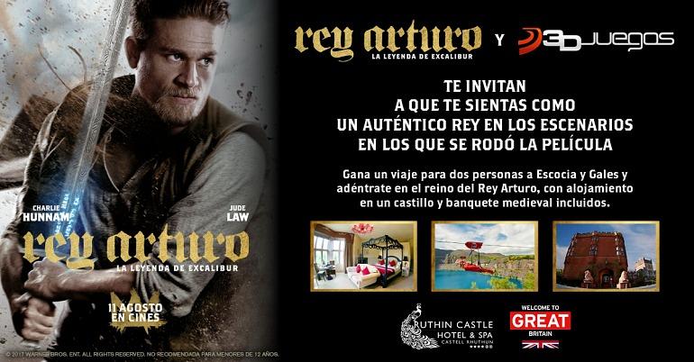 Concurso: ¿Quieres vivir la experiencia del 'Rey Arturo' en Gran Bretaña?