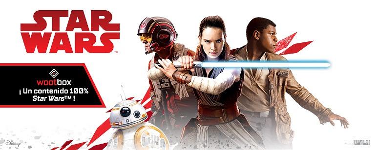 Wootbox: ¡Caja de contenido 100% Star Wars!