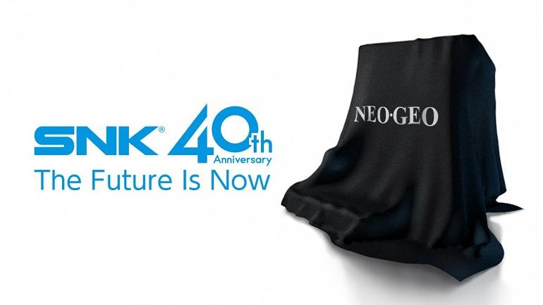 SNK celebra su 40 aniversario con una nueva consola Neo-Geo