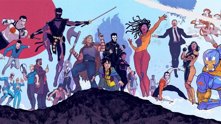 Valiant acoge a X-O Manowar, Bloodshot, Eternal Warrior o Ninjak entre sus personajes.