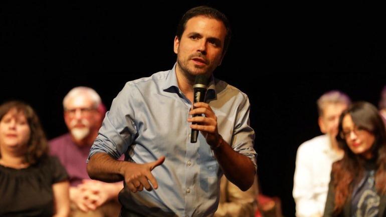 Alberto Garzón, ministro de Consumo de España.