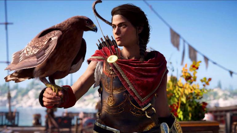 Kassandra en Assassin's Creed Odyssey