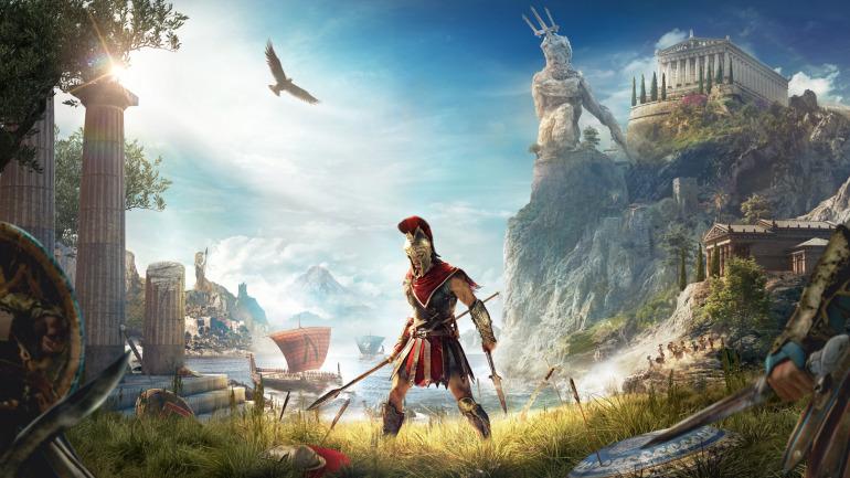 Arte principal de Assassin's Creed Odyssey