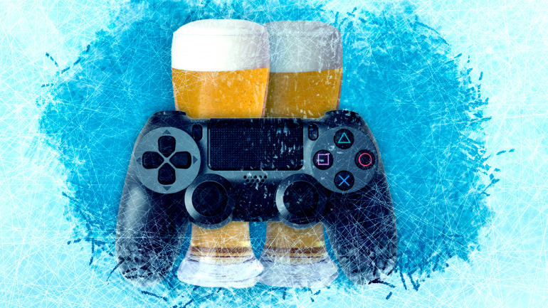 The coolest console on the market is a cooler that chills your beer while you play