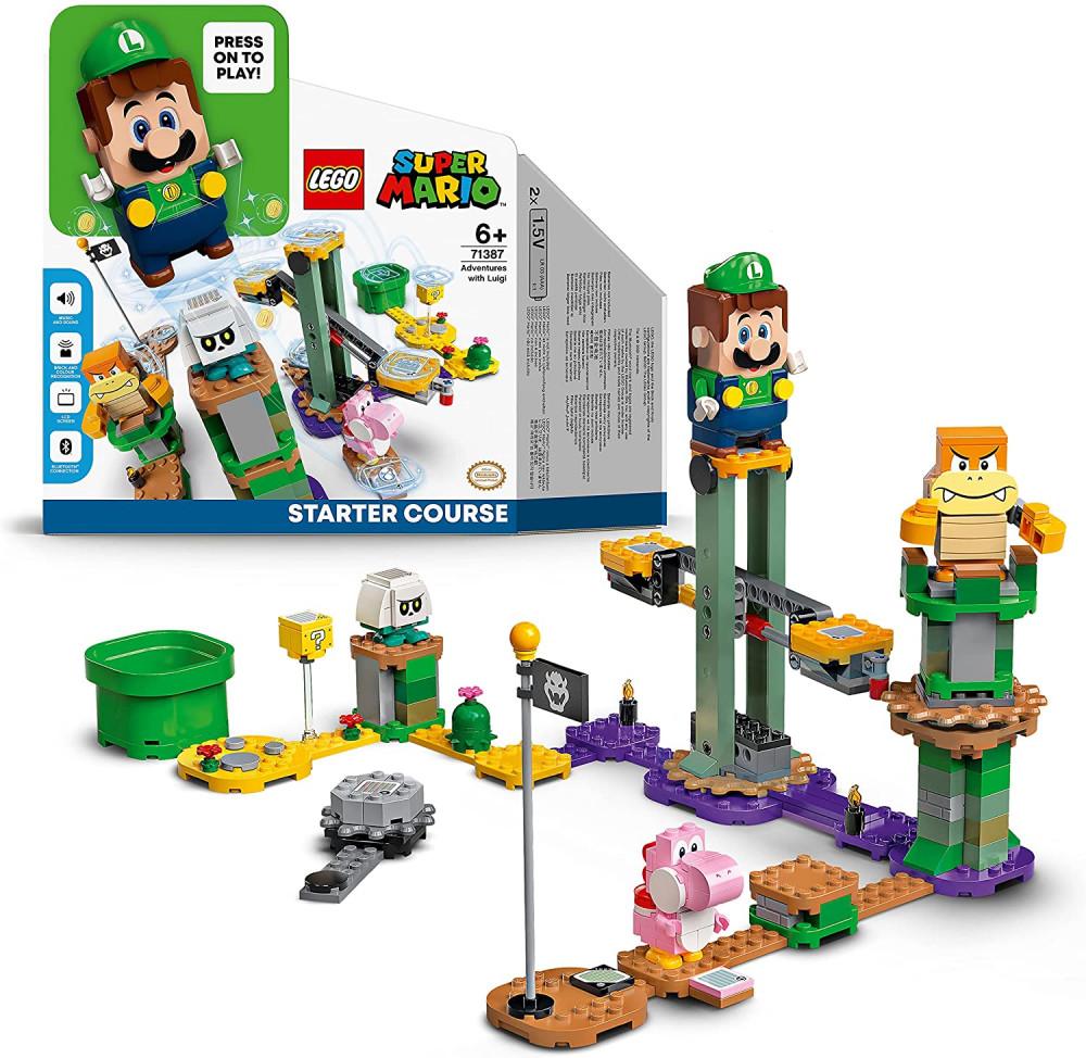 LEGO Super Mario Luigi Set