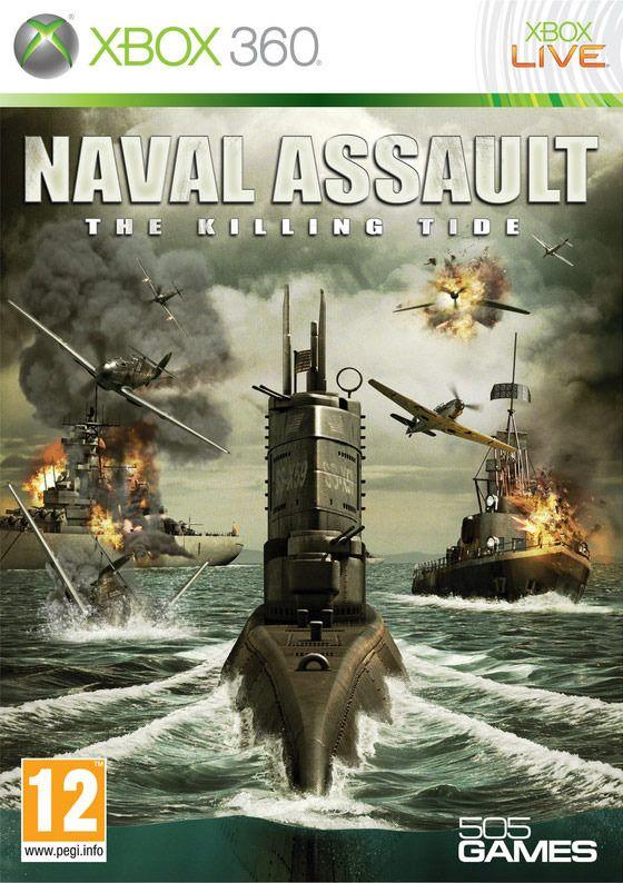 Carátula de Naval Assault: Muerte en el Mar