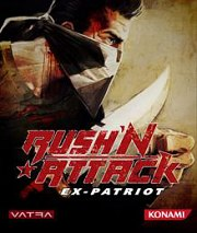 Carátula de Rush'n Attack: Ex-Patriot - PS3