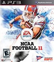 Carátula de NCAA Football 11 - PS3