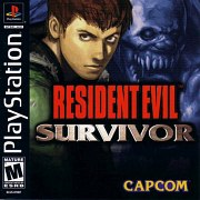 Carátula de Resident Evil: Survivor - PS1