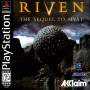 Carátula de Riven: The Sequel to Myst - PS1