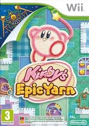 Carátula de Kirby's Epic Yarn - Wii