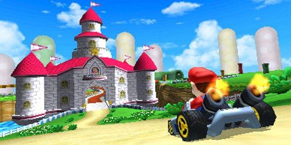 Mario Kart 7: Mario Kart 7: Primer contacto