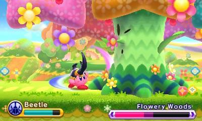 Kirby Triple Deluxe: Kirby Triple Deluxe: Impresiones jugables