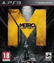 Carátula de Metro: Last Light - PS3