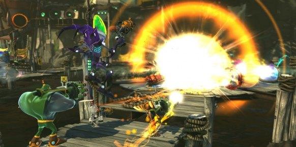 Ratchet & Clank Todos para Uno PS3