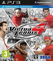 Carátula de Virtua Tennis 4 - PS3