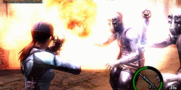 Resident Evil Mercenaries 3D: Resident Evil Mercenaries 3D: Impresiones Captivate 2011