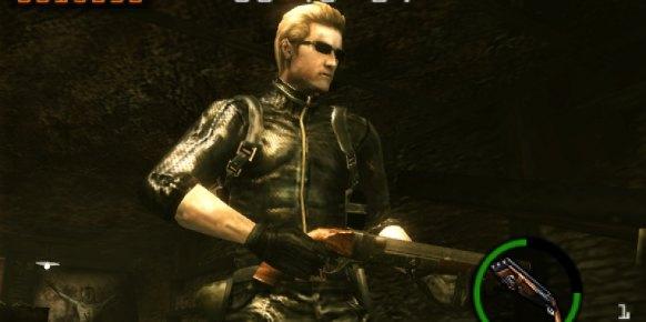 Resident Evil Mercenaries 3D 3DS