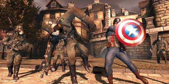 Capitán América Super Soldier Xbox 360