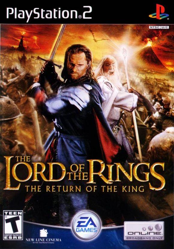 El Señor De Los Anillos El Retorno Del Rey Para Ps2 3djuegos