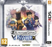 Carátula de Profesor Layton vs Phoenix Wright - 3DS