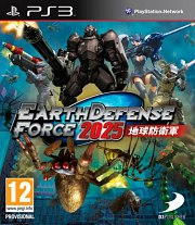 Carátula de Earth Defense Force 2025 - PS3